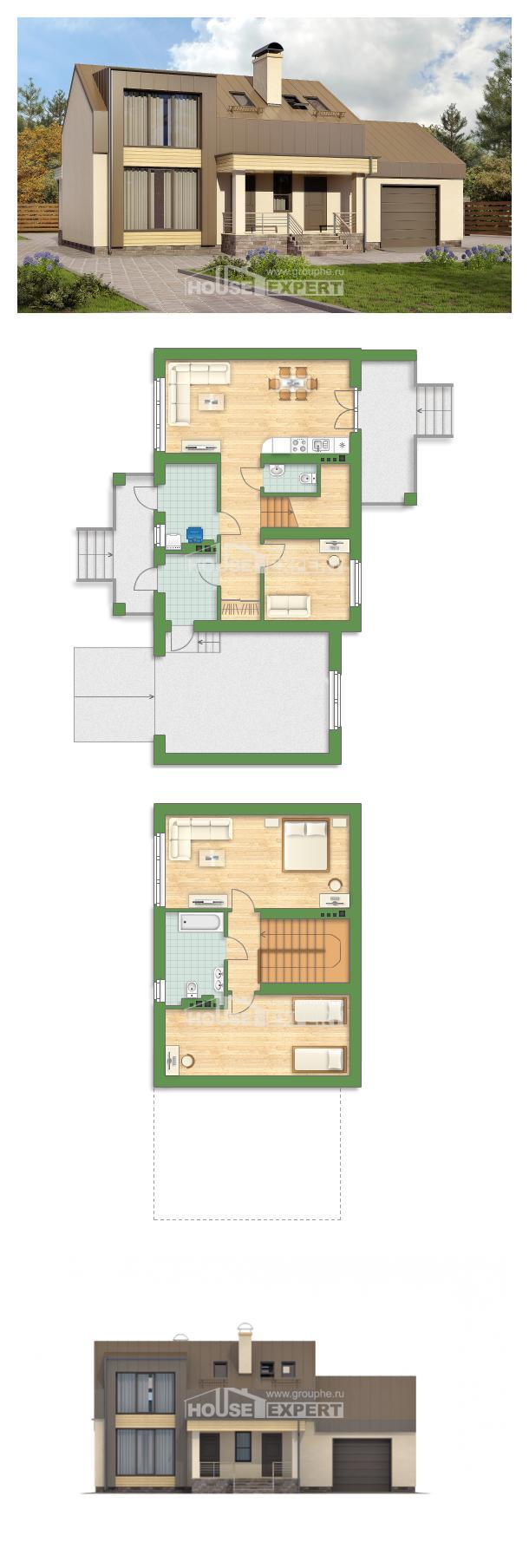 Проект дома 150-015-Л   House Expert