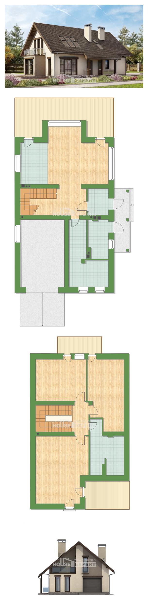 Проект дома 185-005-Л | House Expert