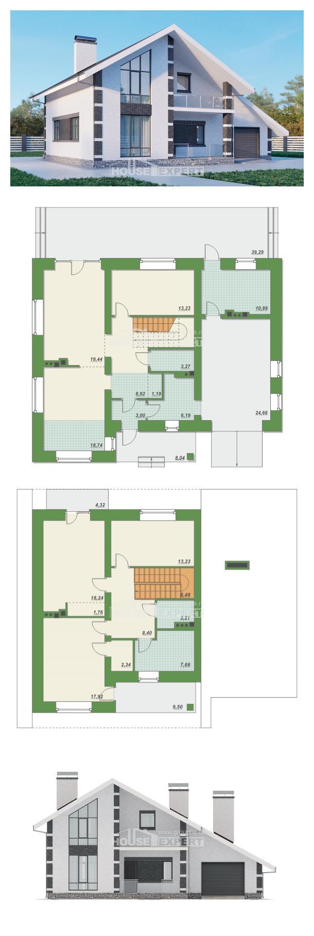 Проект дома 190-008-П | House Expert