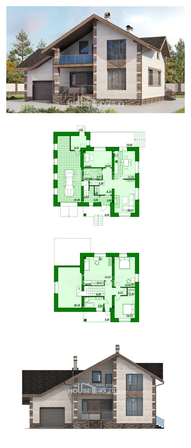 Проект дома 245-005-П | House Expert