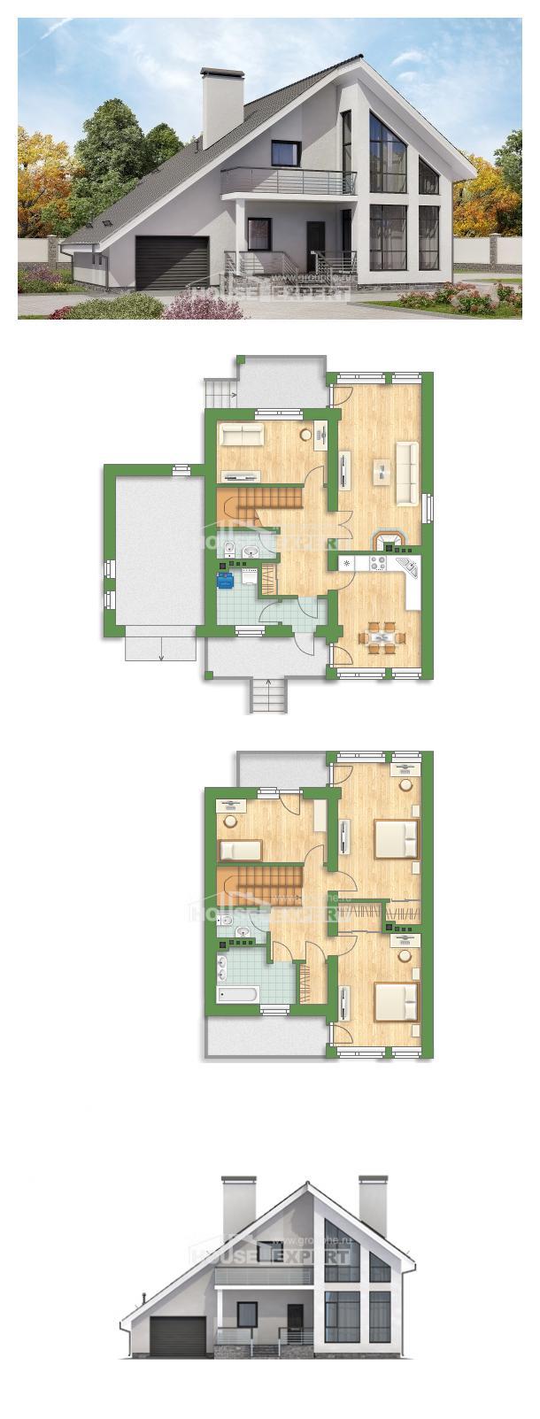 Проект дома 200-007-Л   House Expert