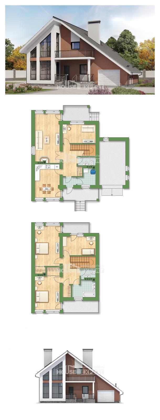 Проект дома 200-007-П   House Expert