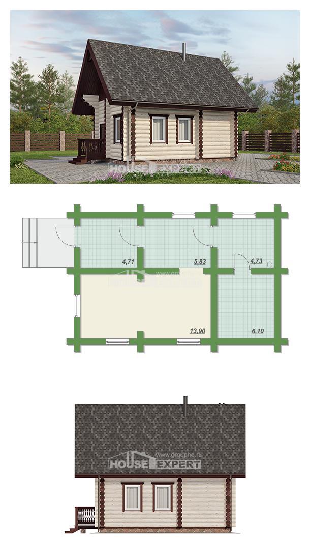 Проект дома 035-001-Л | House Expert