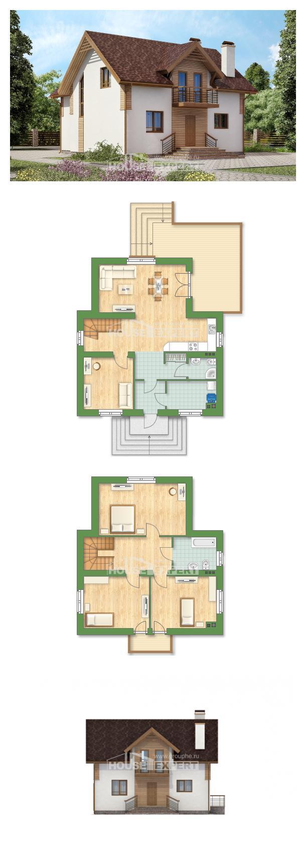 Проект дома 150-009-П  | House Expert