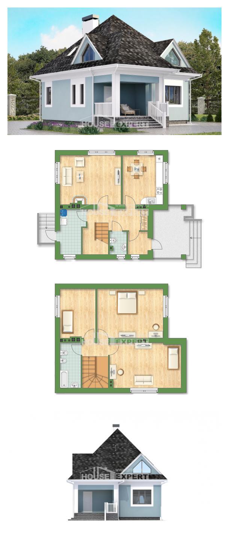 Проект дома 110-001-Л   House Expert