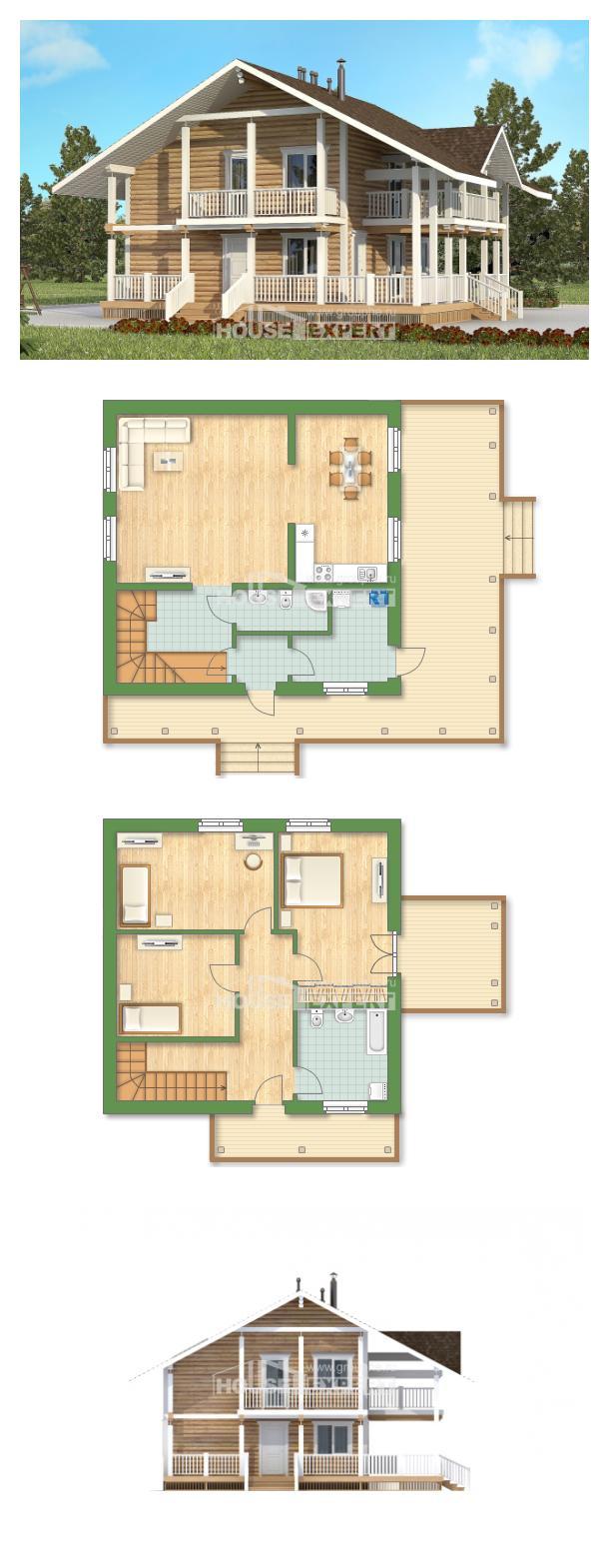 Проект дома 130-001-П | House Expert