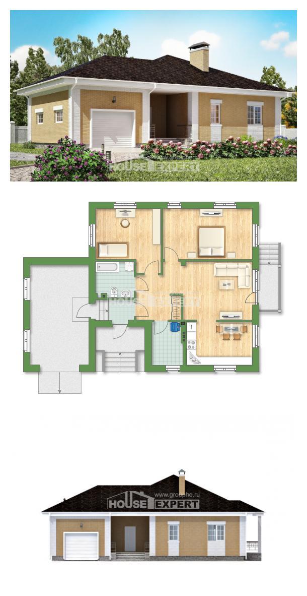 Проект дома 130-002-Л   House Expert