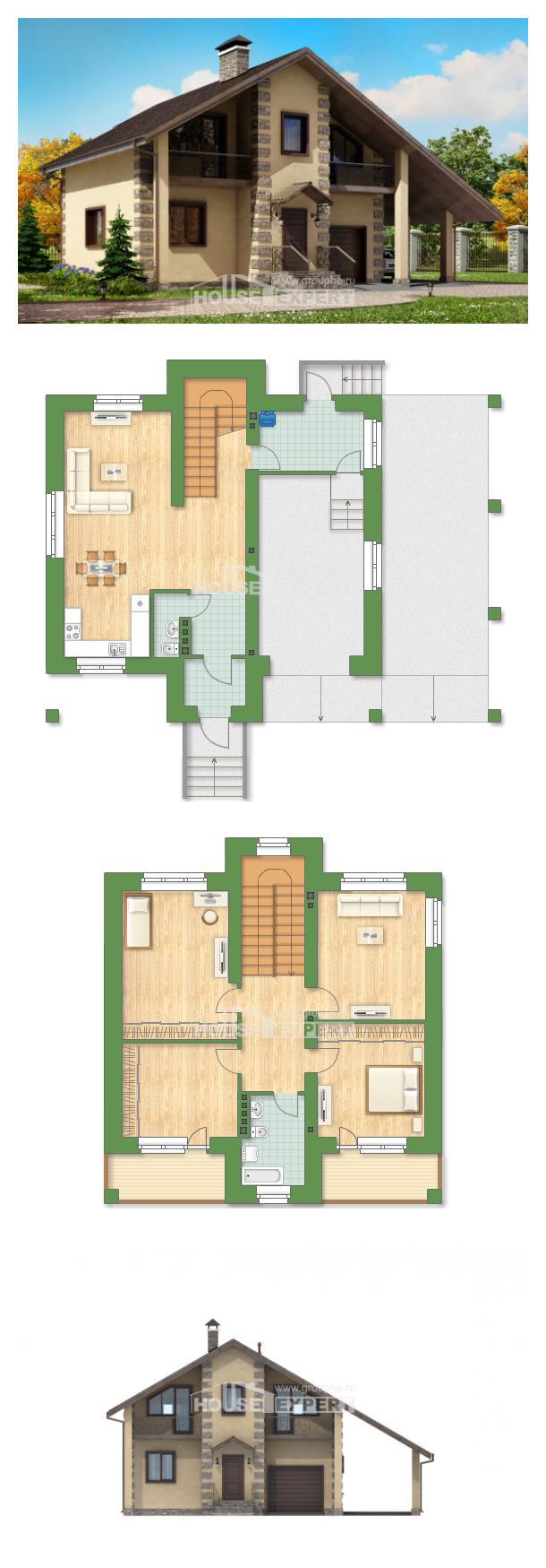 Проект дома 150-003-П | House Expert
