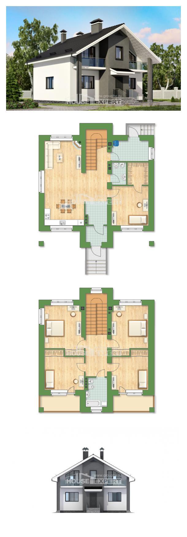 Проект дома 150-005-Л   House Expert