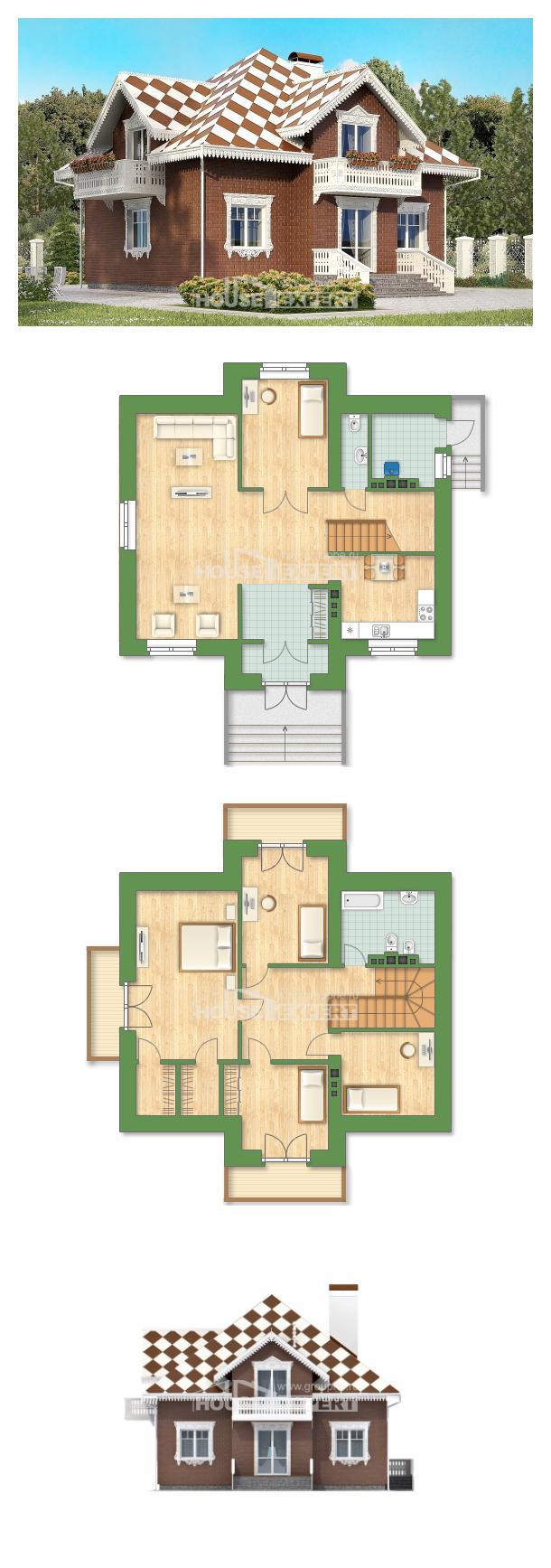 Проект дома 155-003-Л   House Expert