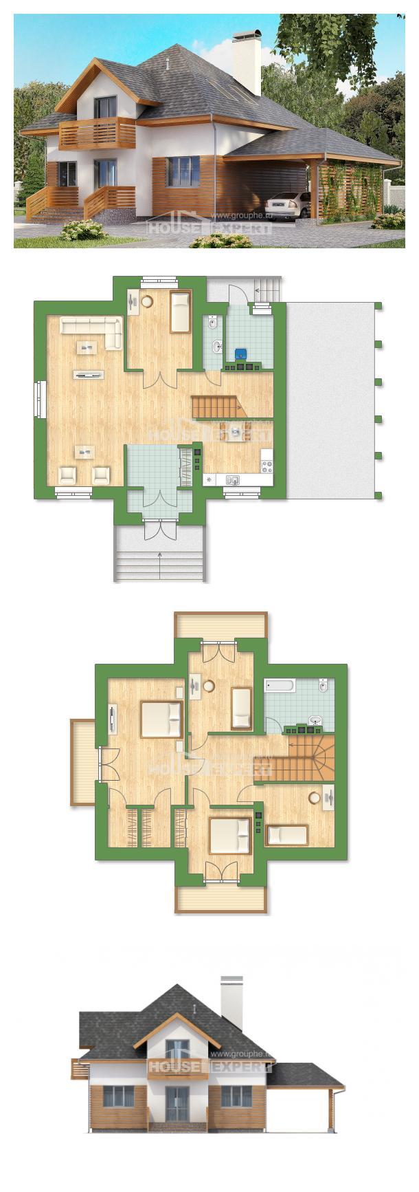 Проект дома 155-004-П | House Expert