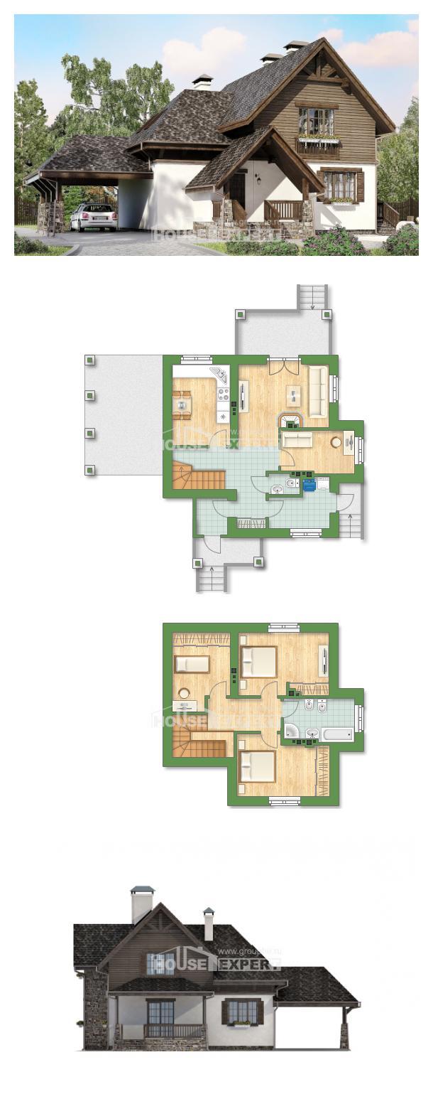 Проект дома 160-002-Л   House Expert