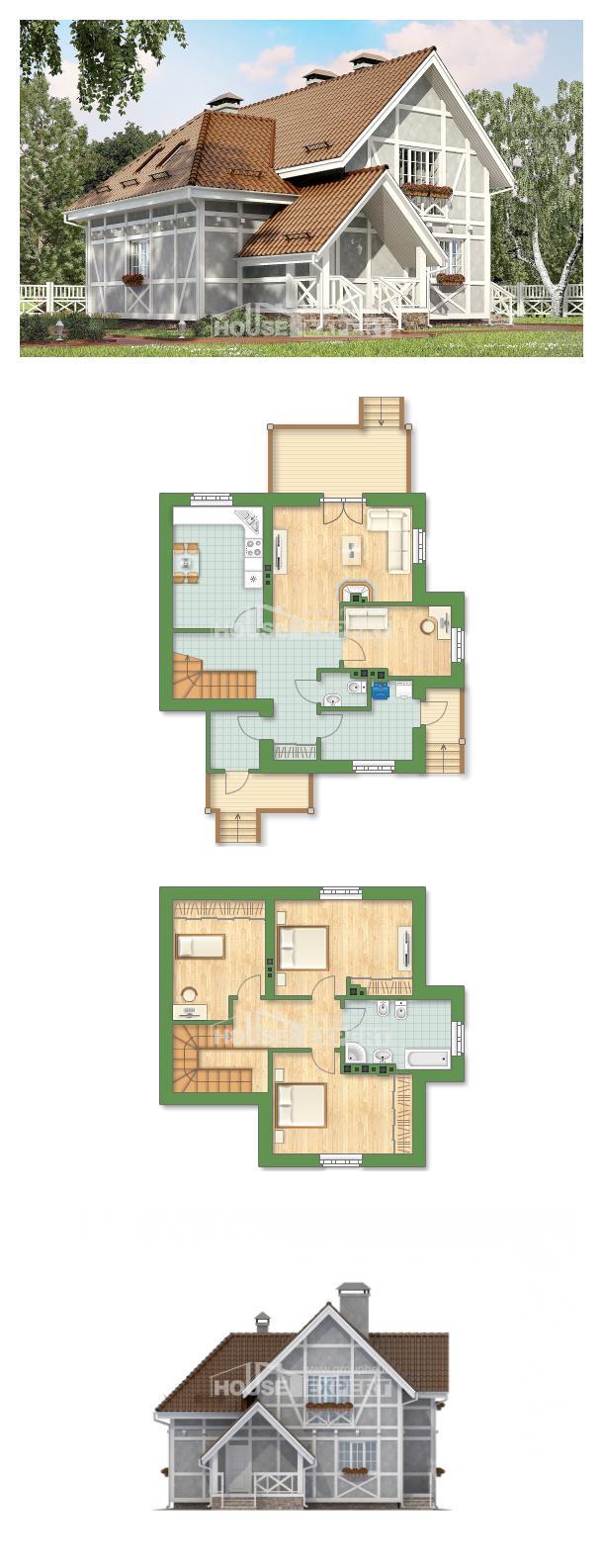 Проект дома 160-003-Л   House Expert