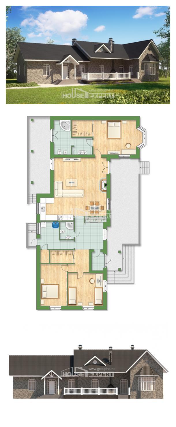 Проект дома 195-001-П | House Expert