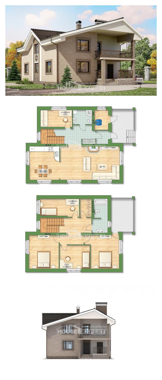 Проект дома 210-003-П   House Expert