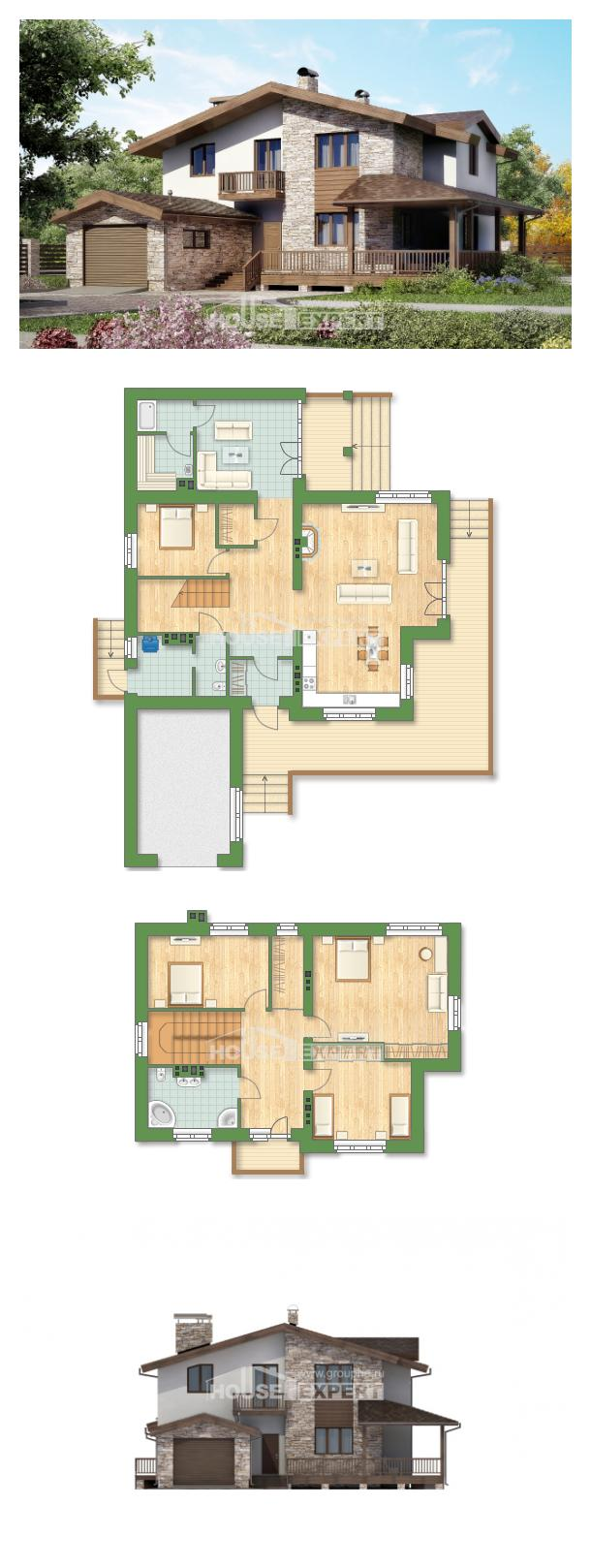 Проект дома 220-001-П   House Expert