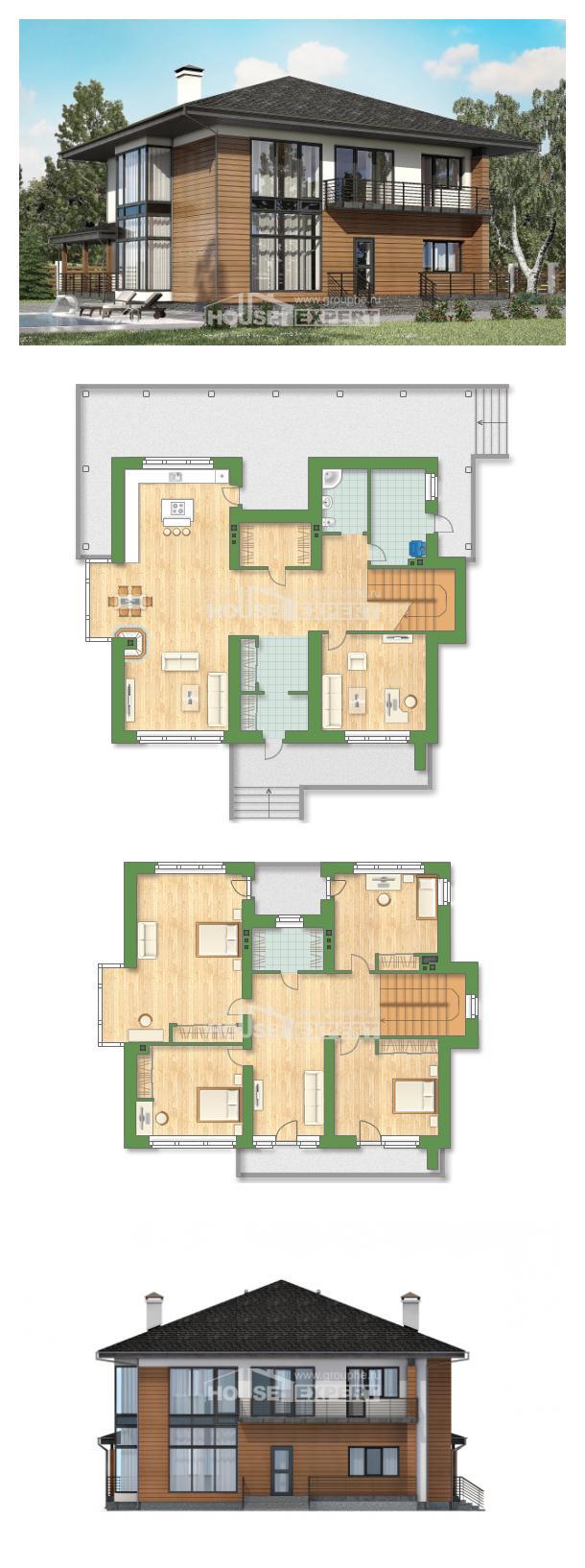 Проект дома 245-001-П   House Expert