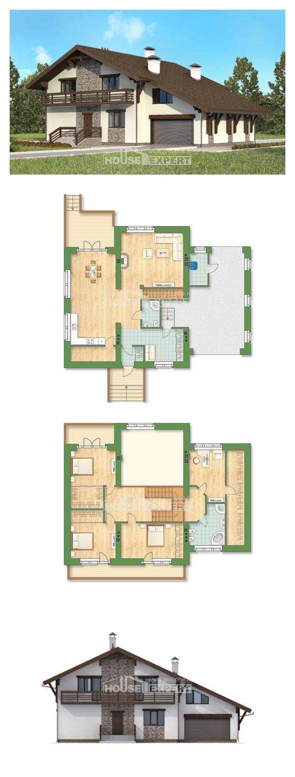 Проект дома 280-001-П   House Expert