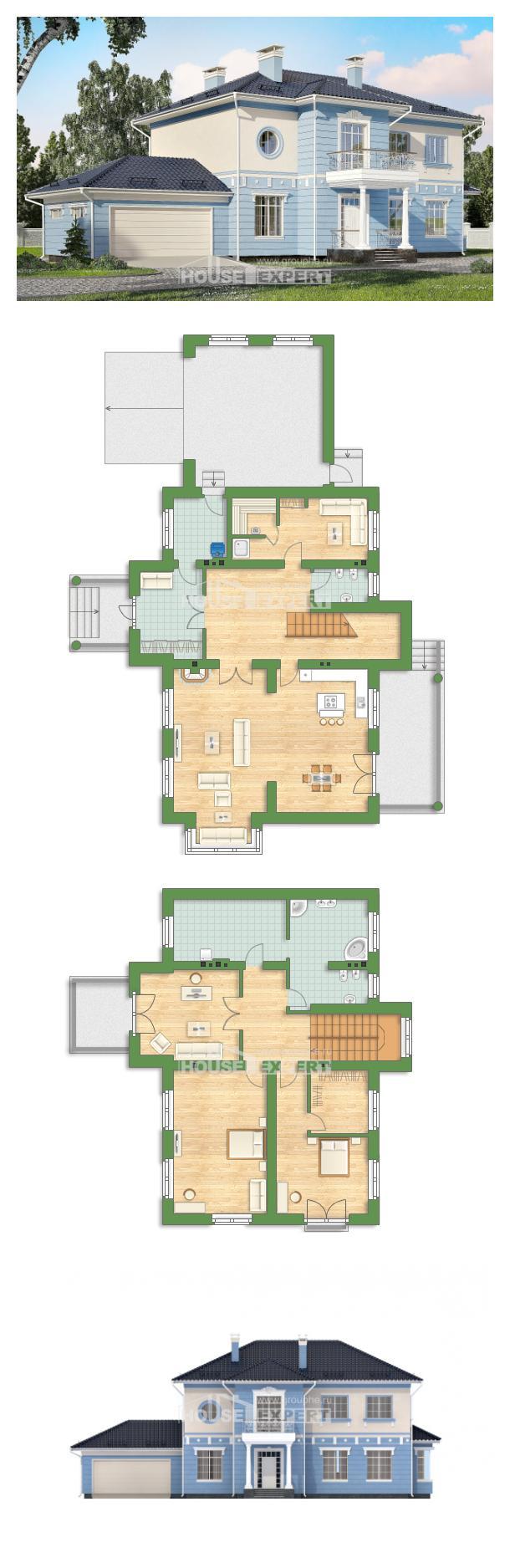 Проект дома 285-003-Л   House Expert