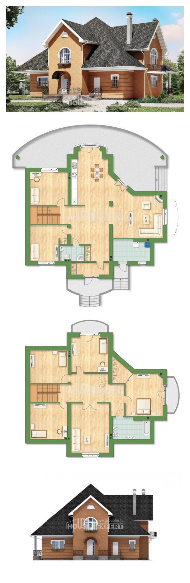 Проект дома 310-001-П   House Expert