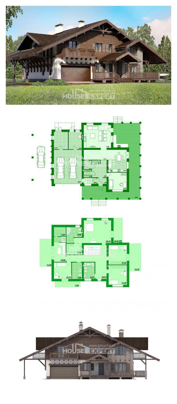 Проект дома 320-001-П   House Expert