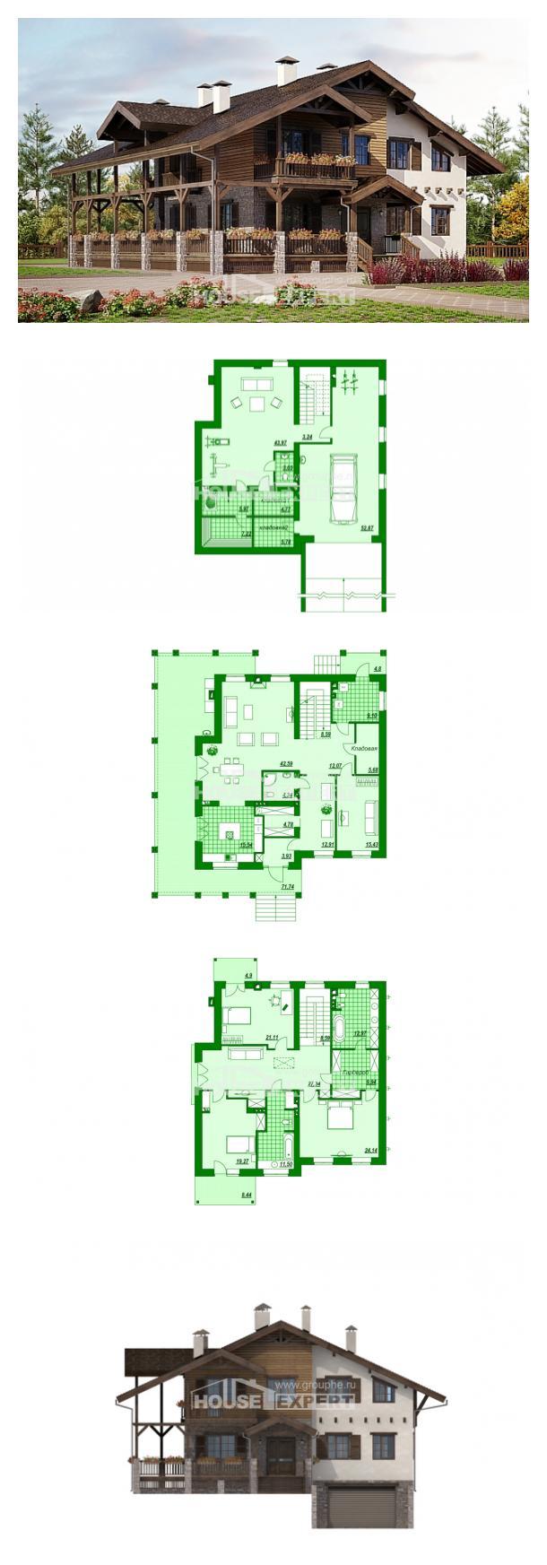 Проект дома 400-004-П   House Expert