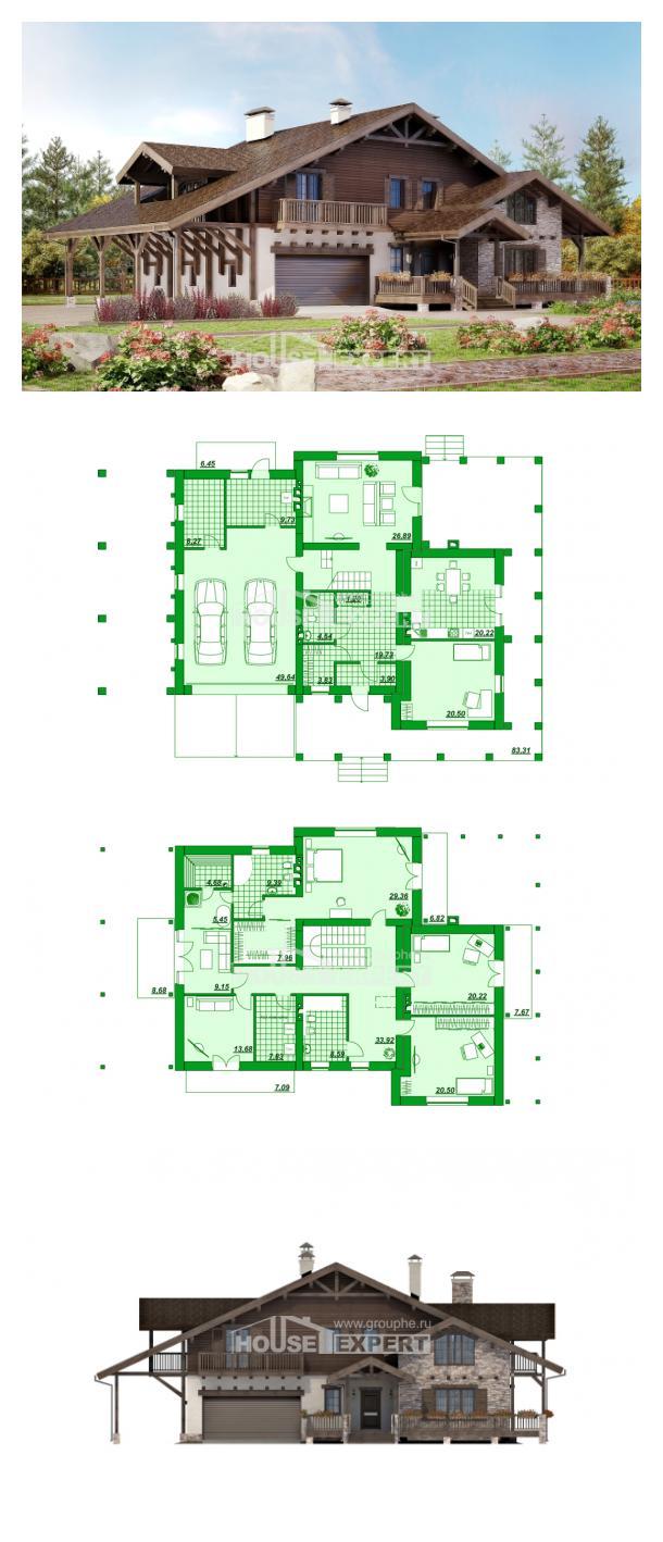 Проект дома 340-003-П | House Expert