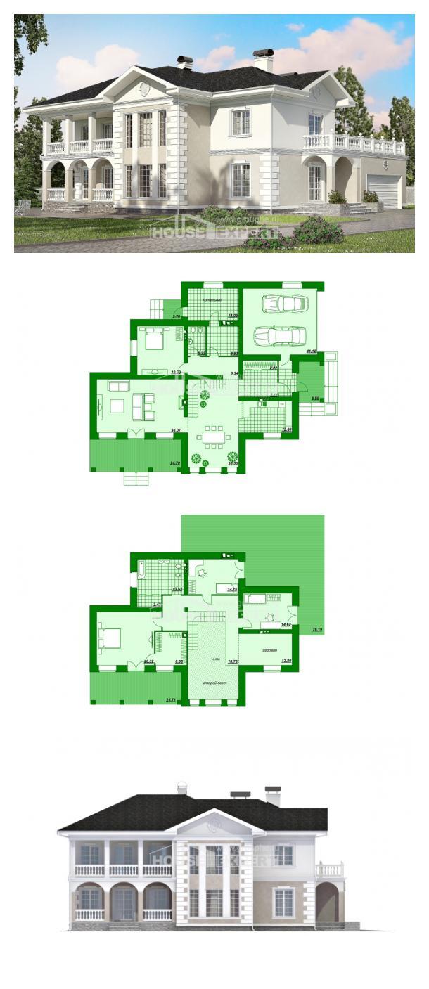 Проект дома 340-002-П | House Expert