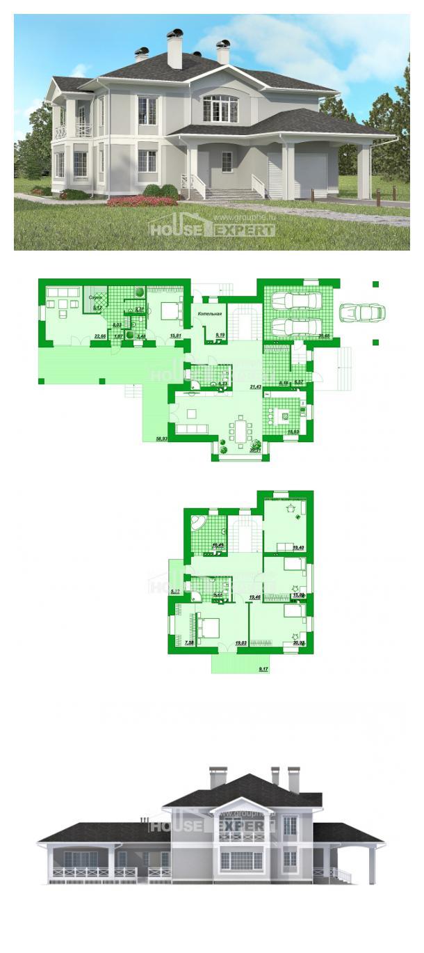 Проект дома 360-001-П | House Expert