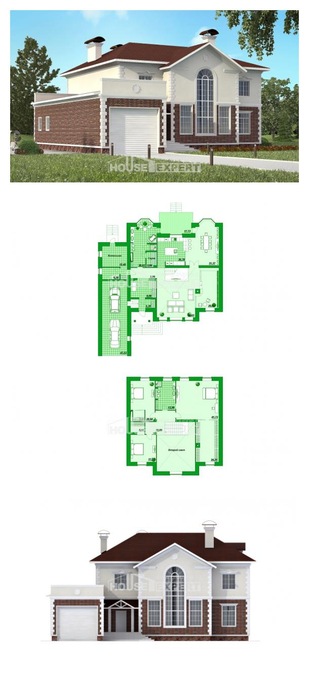 Проект дома 380-001-Л   House Expert
