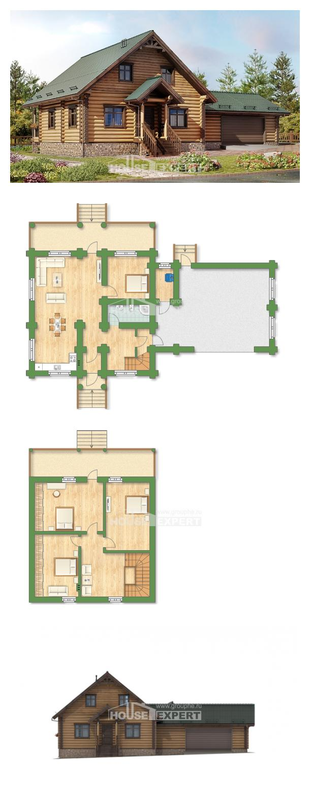 Проект дома 270-002-П   House Expert