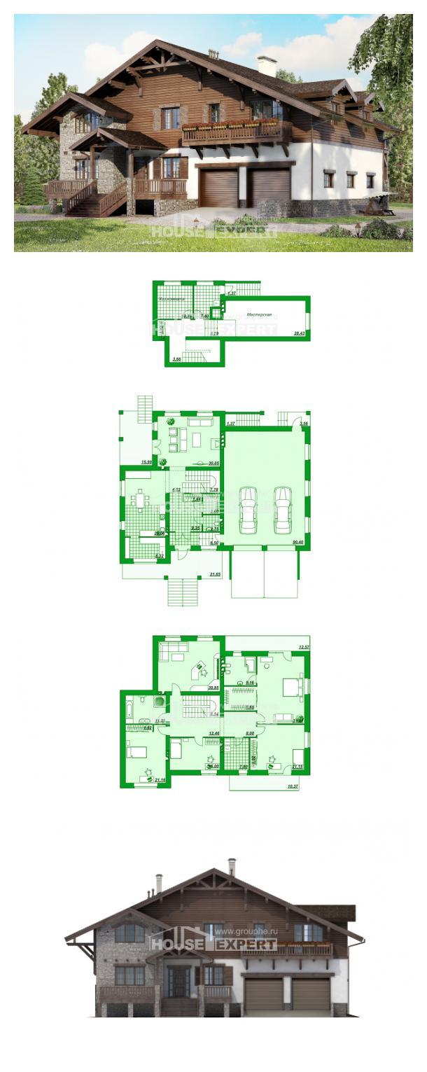 Проект дома 440-001-П   House Expert