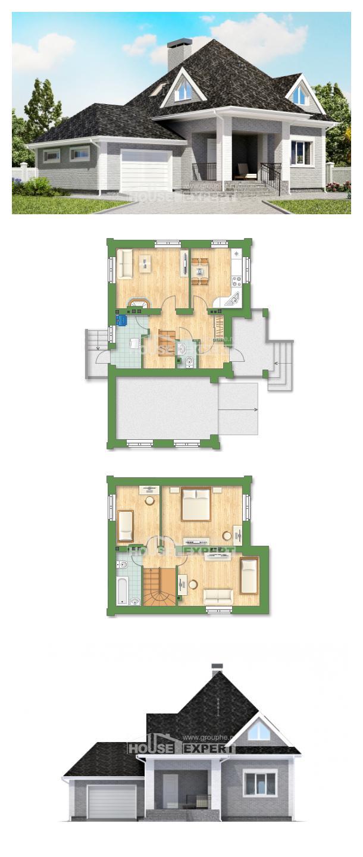 Проект дома 135-001-Л   House Expert