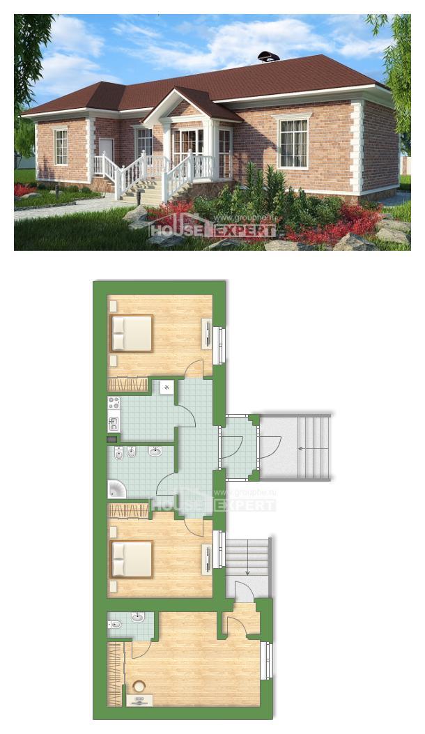 Проект дома 090-001-Л   House Expert