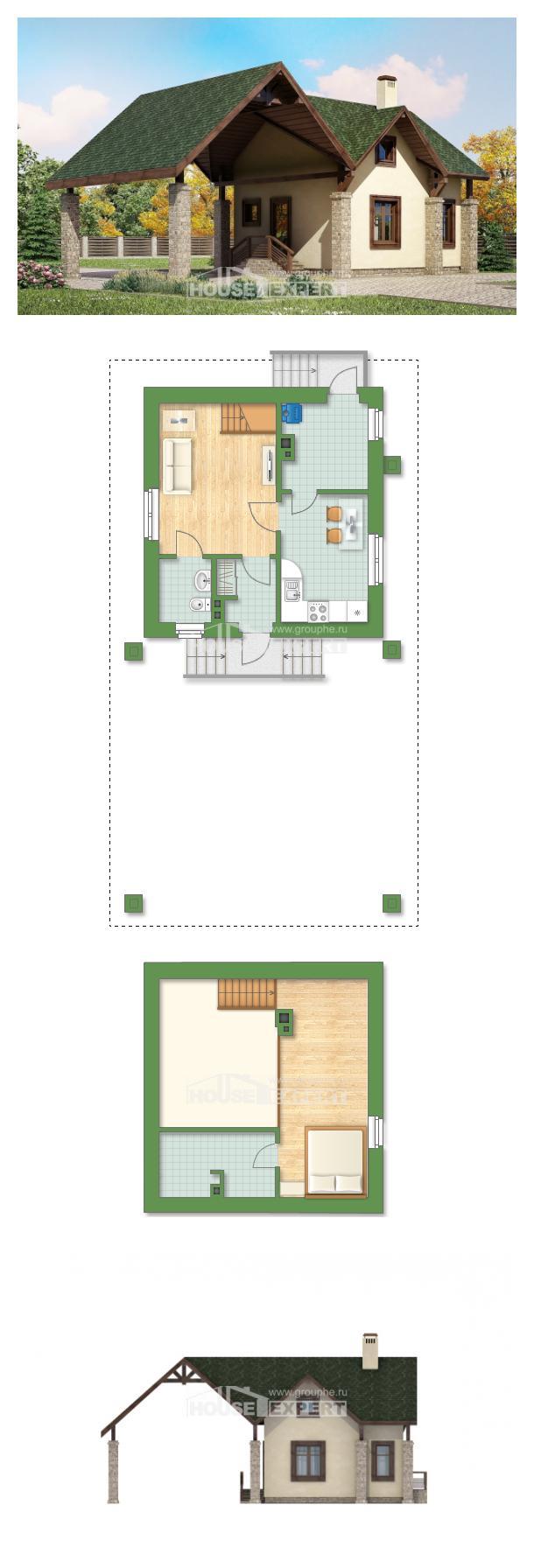 Проект дома 060-001-Л | House Expert