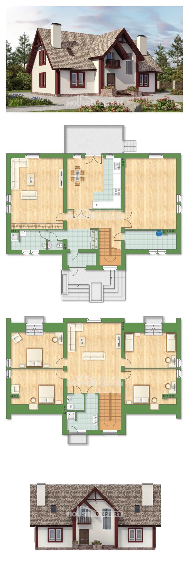 Проект дома 300-008-Л   House Expert