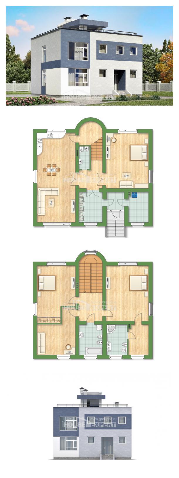 Проект дома 180-005-П   House Expert