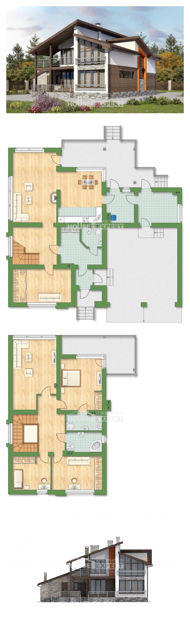 Проект дома 240-004-П   House Expert