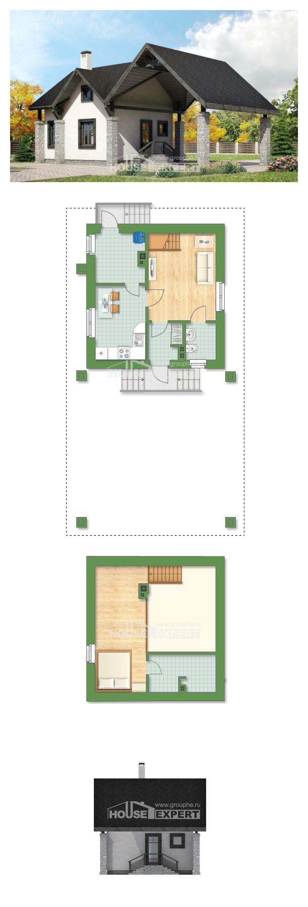 Проект дома 060-001-П   House Expert
