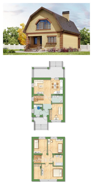 Проект дома 130-005-Л   House Expert