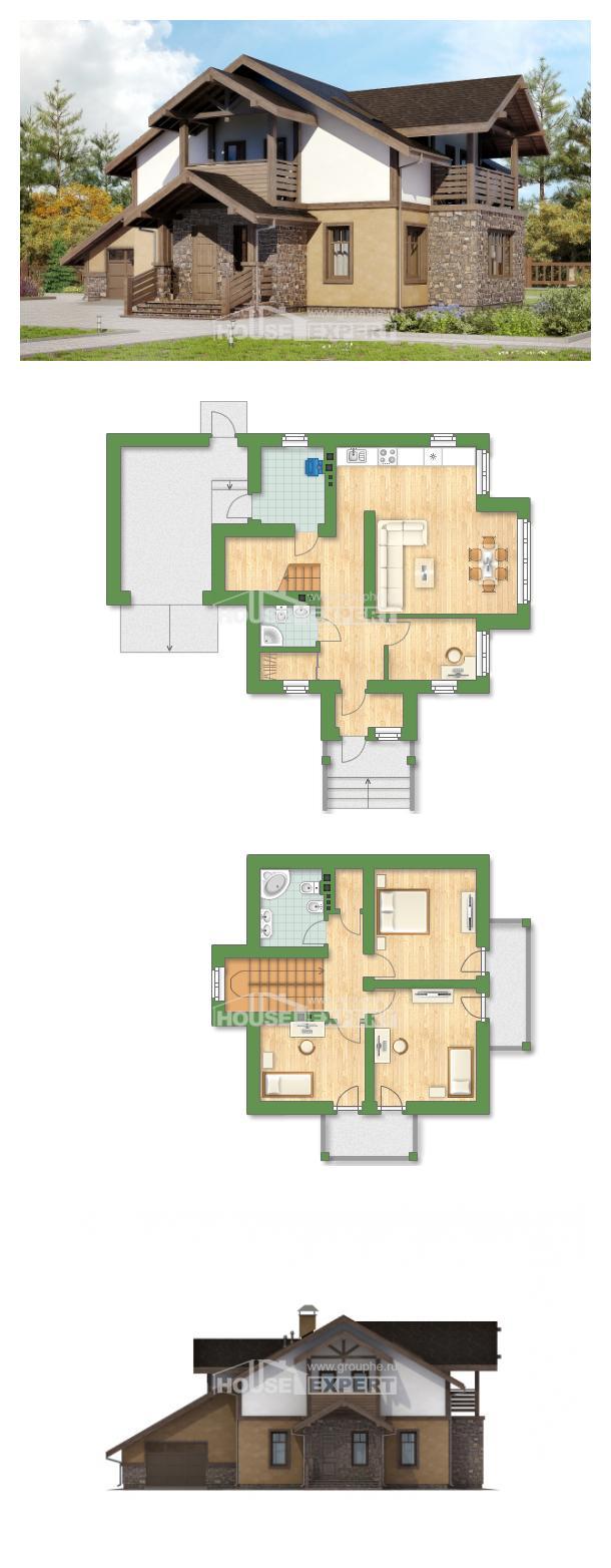 Проект дома 180-011-Л   House Expert
