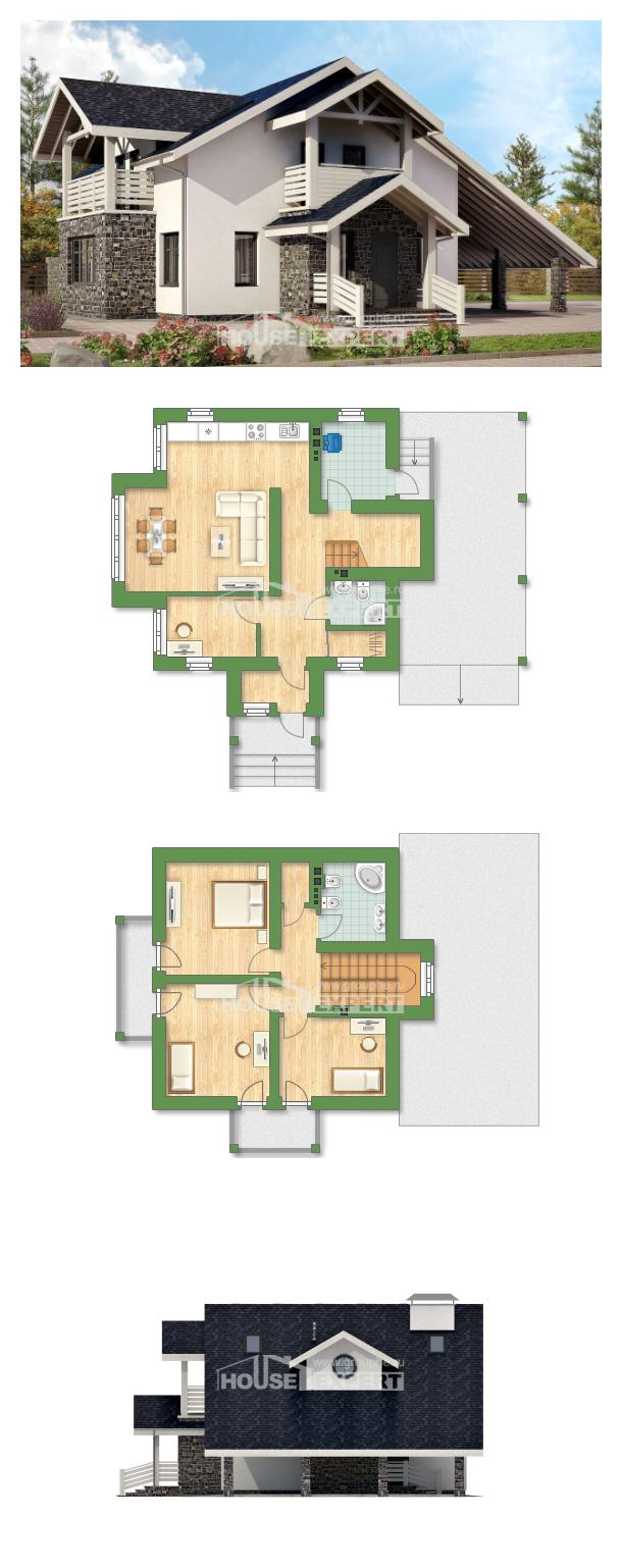 Проект дома 155-010-П | House Expert