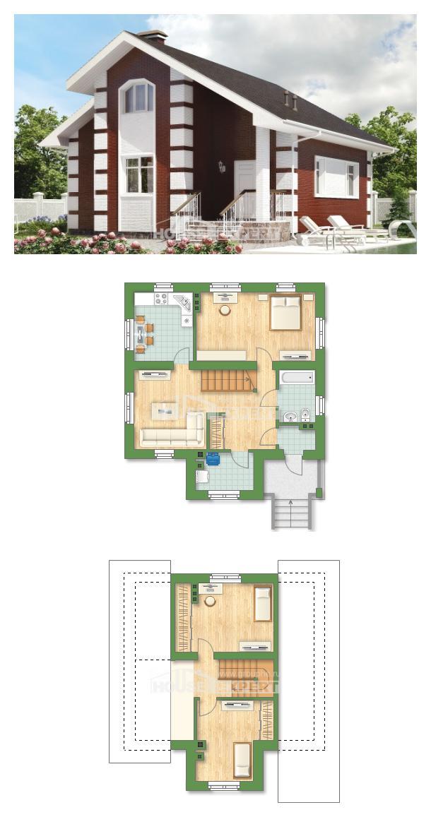 Проект дома 115-001-П   House Expert