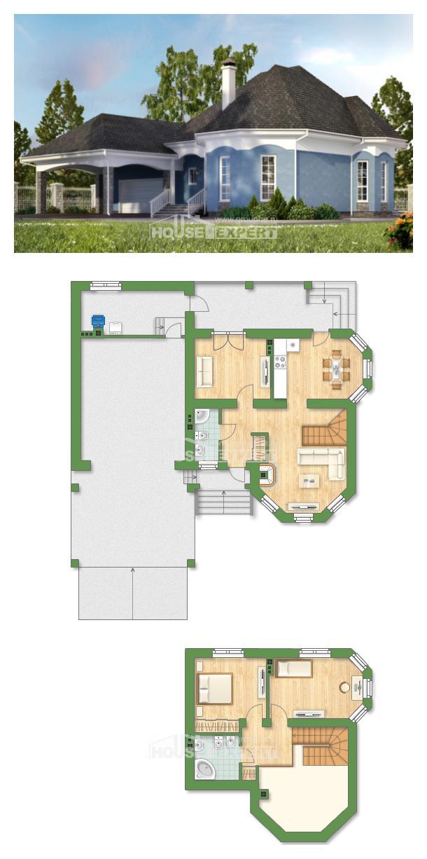 Проект дома 180-007-Л   House Expert