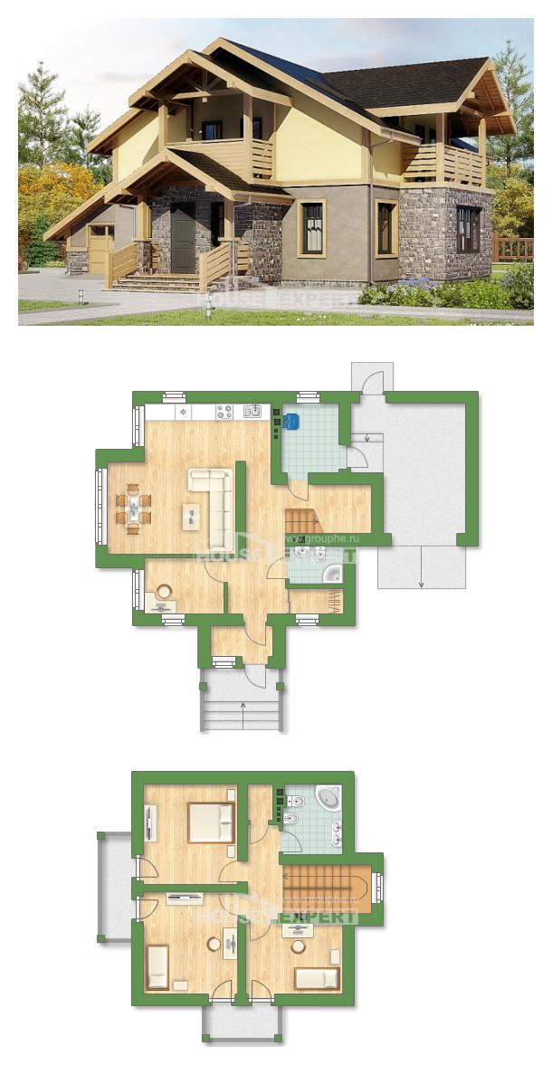 Проект дома 180-011-П   House Expert