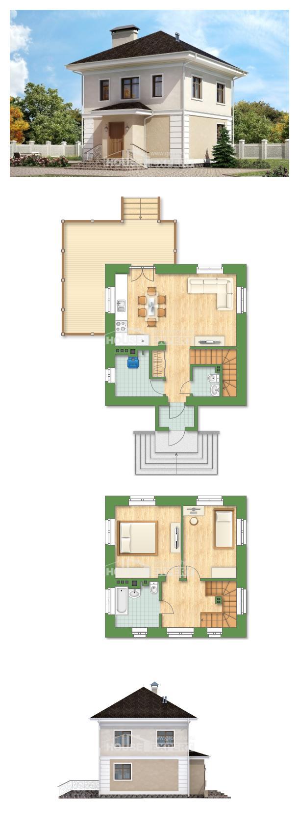 Проект дома 090-003-Л | House Expert