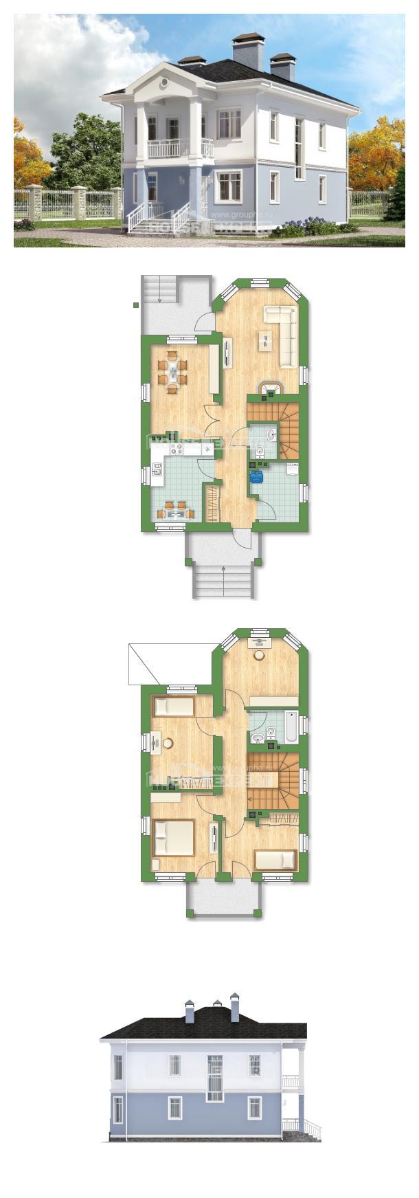 Проект дома 120-001-П   House Expert