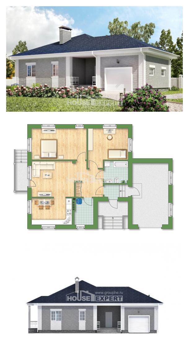 Проект дома 130-002-П | House Expert