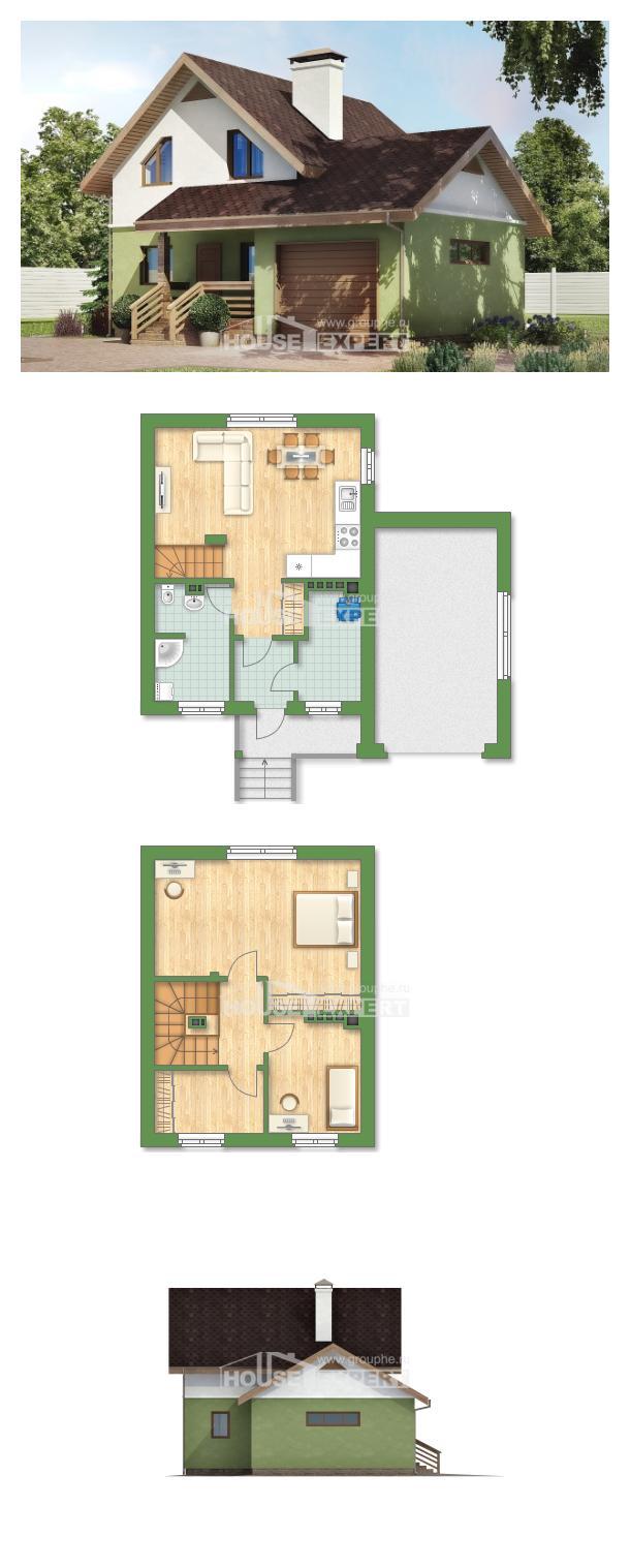 Проект дома 120-002-П | House Expert