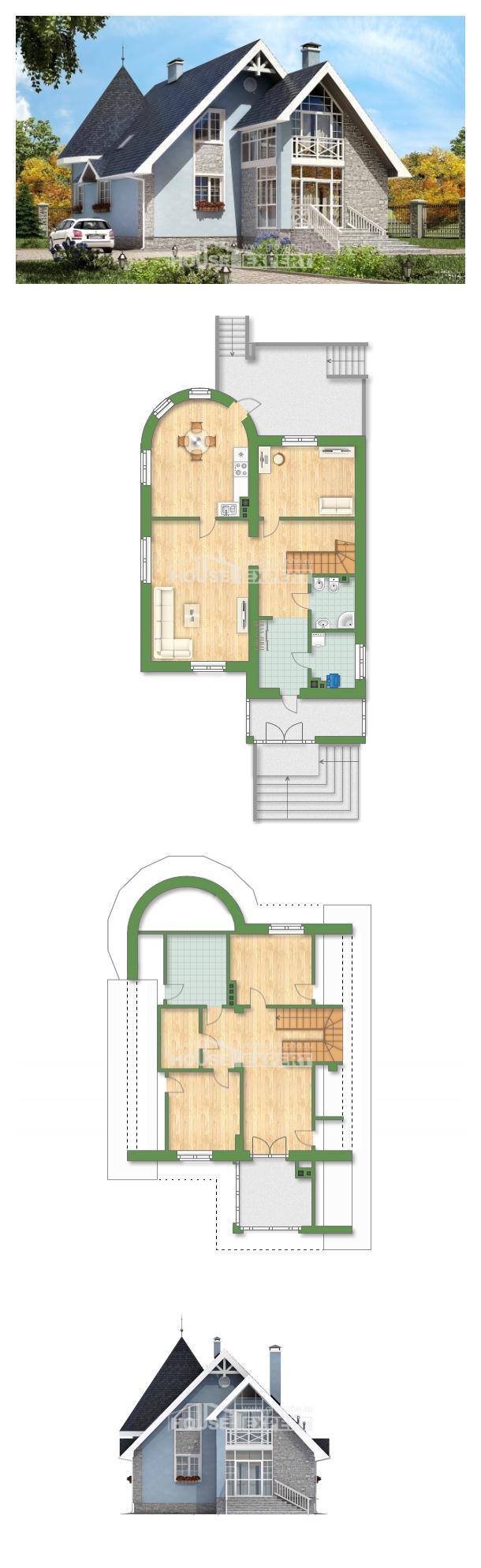 Проект дома 170-003-П   House Expert